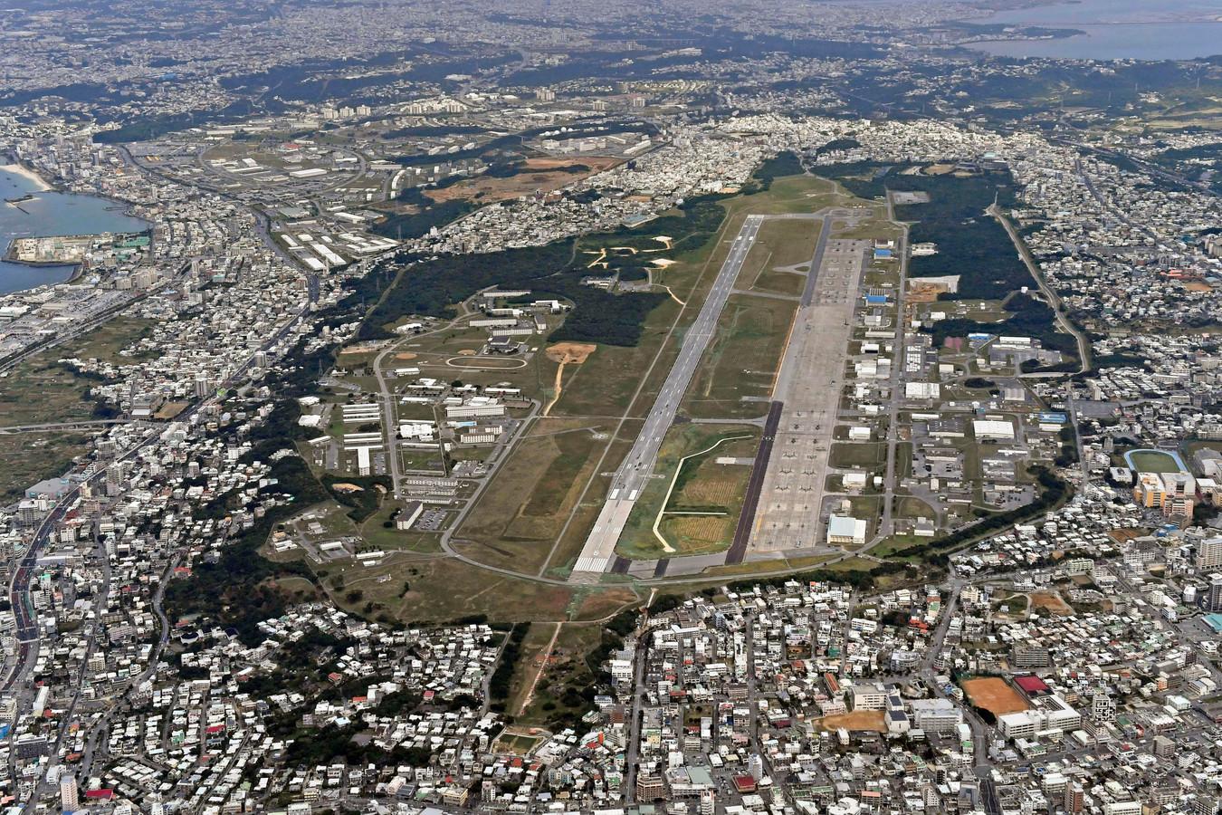 De Amerikaanse luchtmachtbasis Futenma zou te maken hebben met een virusuitbraak.
