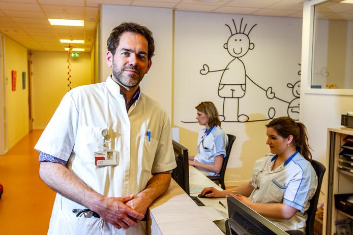 Ted Klok heeft goede hoop dat zijn team kinderen van voedselallergie kan afhelpen.