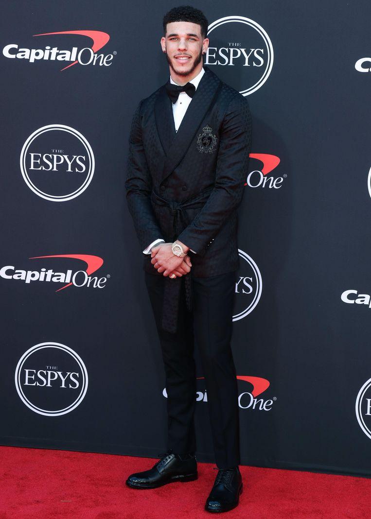 NBA-ster Lonzo Ball.