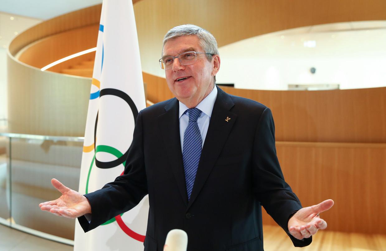 IOC-voorzitter Thomas Bach. Beeld EPA
