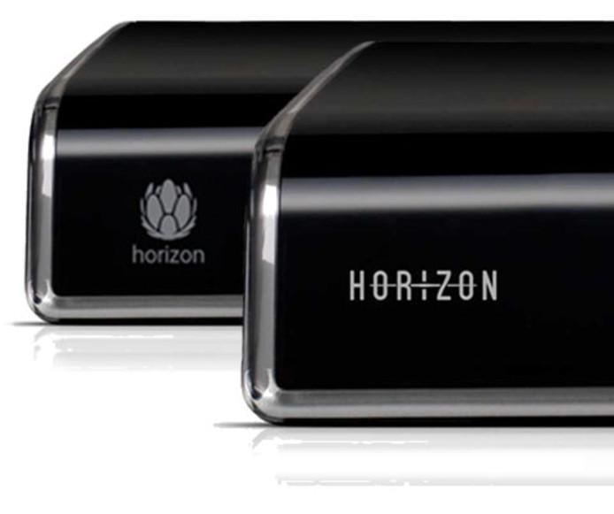 De nieuwe Horizon-box ondersteunt 4K en HDR, neemt op in de cloud en kan met de stem worden bediend