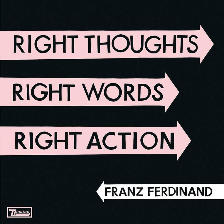 Albumhoes van Right Thoughts, Right Words, Right Action. Beeld Domino/V2