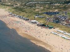 Voortijdig einde strandfeesten Bloemendaal vanwege rellen