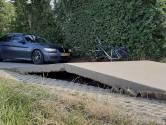 Wegdek komt halve meter omhoog door hitte in Biggekerke