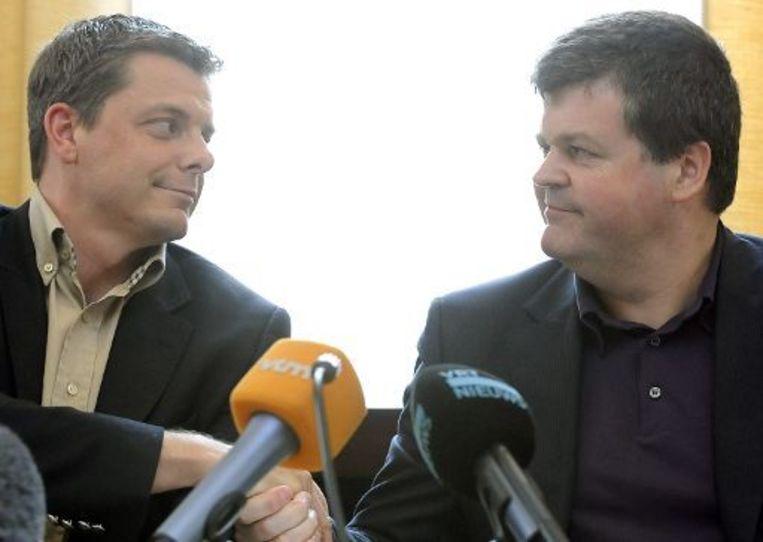 Dirk Vijnck enkele weken geleden bij zijn overstap naar Open Vld