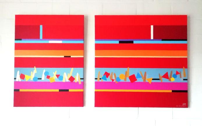 Kunstenaar Adi Steurbaut laat twee werken veilen voor Stop Parkinson Walk.