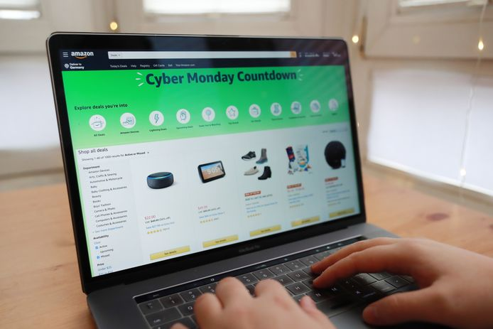 Cyber Monday bij Amazon.
