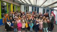 Ketnet-acteurs op bezoek bij basisschool De Zilverberk voor Ketnet-Koekenbak van Music For Life