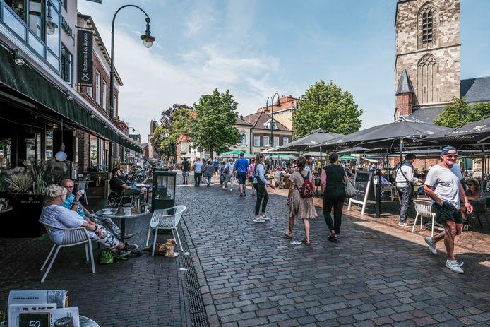 Het mooie weer trok afgelopen zomer veel toeristen naar Winterswijk.
