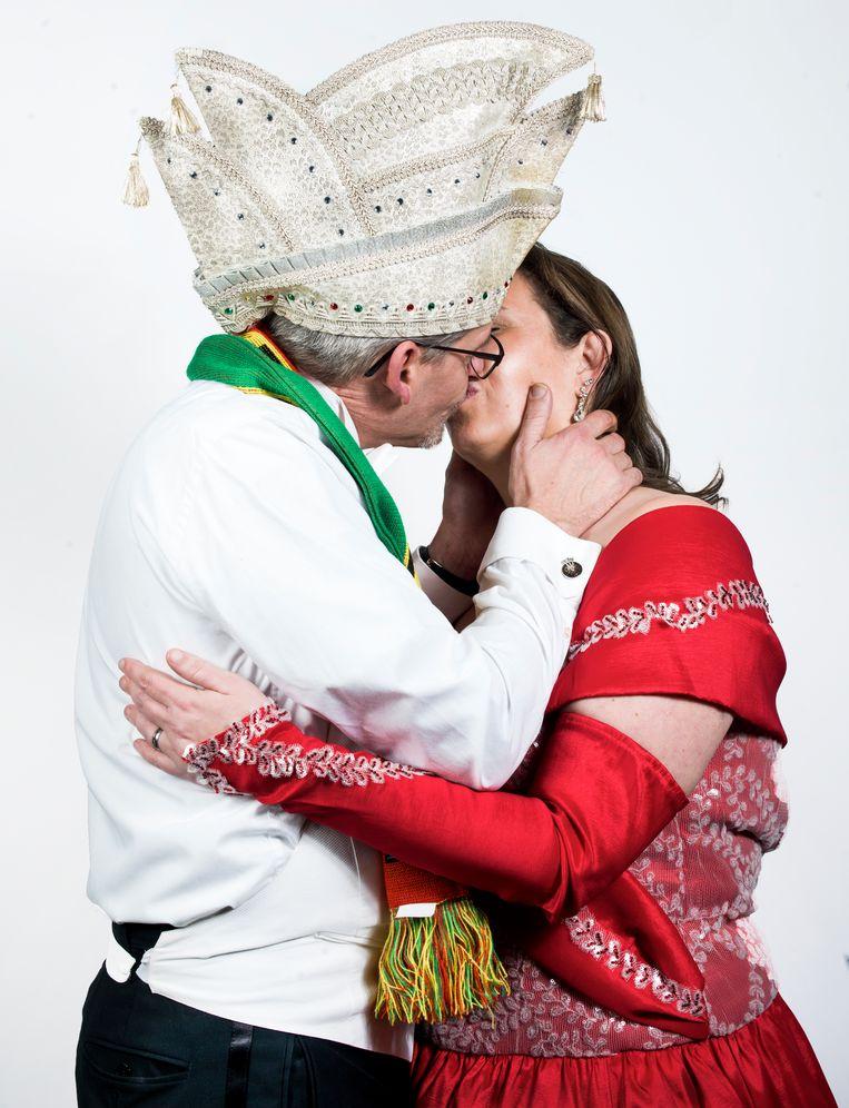 Marcel Aben en Miranda Aben-Van der Wal. Beeld Eva Roefs