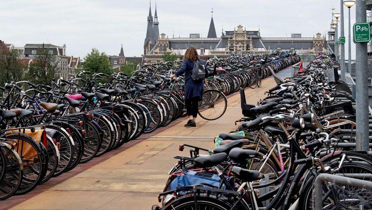 Nu blijkt dat de stad helemaal geen commerciële fietsen kan verwijderen uit de openbare ruimte Beeld anp