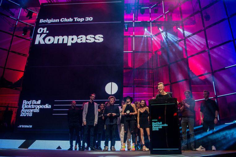 De Kompass Klub won vorig jaar nog een  Red Bull Elektropedia Awards, voor beste nachtclub