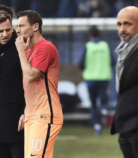 Trainer Spalletti gaat alleen verder bij contractverlenging Totti