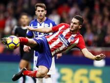 Moeizame zege op Alavés brengt Atlético naar plek 2