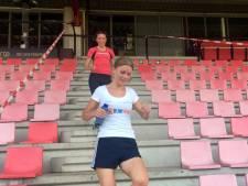 """""""Benen voelen slecht, de rest voelt goed"""" tijdens Stairs Run for KIKA"""