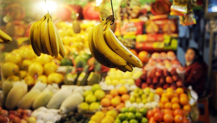 China richt zich met de export van fruit en groente op de Russische markt. Beeld afp