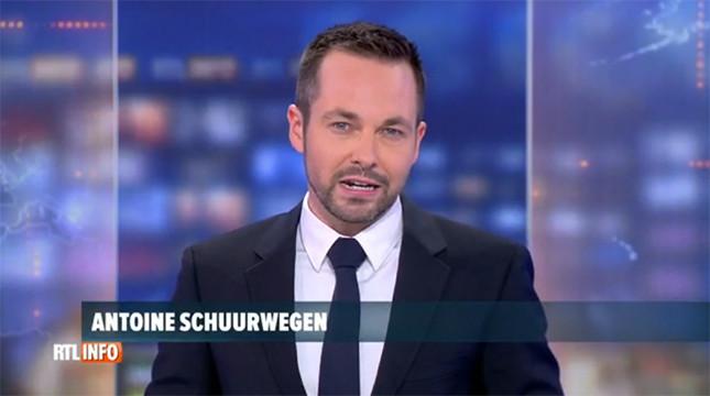 Antoine Schuurwegen apparaîtra désormais en alternance aux JT de 13 et 19 heures sur RTL