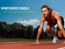 SportService Zwolle zoekt nieuw boegbeeld