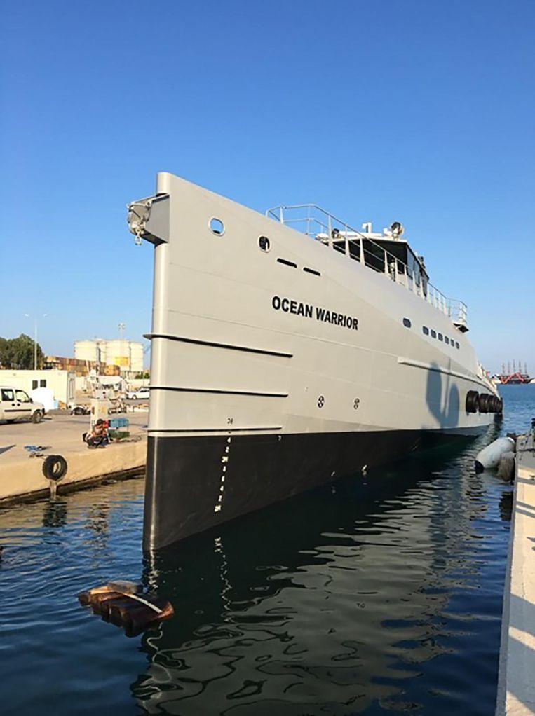 Nieuw Oorlogsschip Moet Walvisjagers De Pas Afsnijden