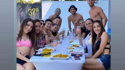 Luuk de Jong excuseert zich voor groepsetentje met Sevilla-spelers
