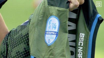 Mertens-shirts brengen Napoli geluk, Rode Duivel komt wel niet tot scoren tegen Hellas Verona