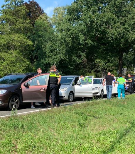Twee kettingbotsingen op N65 bij Vught, meerdere gewonden