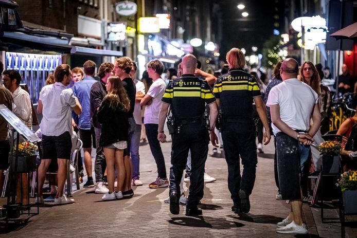 Er wordt strenger gehandhaafd, zoals hier in Amsterdam.
