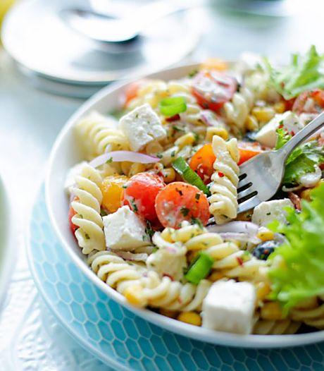 Wat Eten We Vandaag: Zomerse pastasalade met fusilli