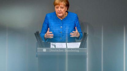 Merkel gelooft nog in brexit-akkoord