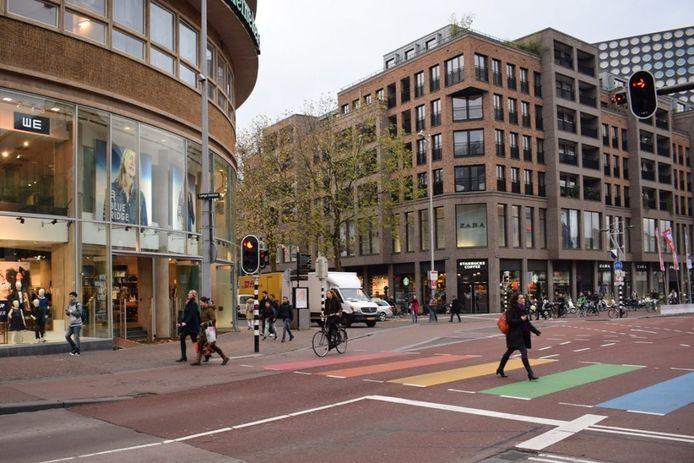 Utrecht heeft wel een regenboogzebrapad.
