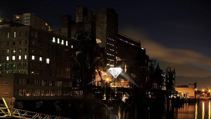 Gigantische diamant schittert weldra in Rotterdam-Zuid | Rotterdam ...