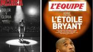 IN BEELD. Ook wereldpers neemt afscheid van Kobe Bryant