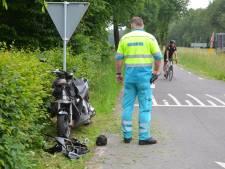 Scooterrijder gewond door aanrijding in Lochem