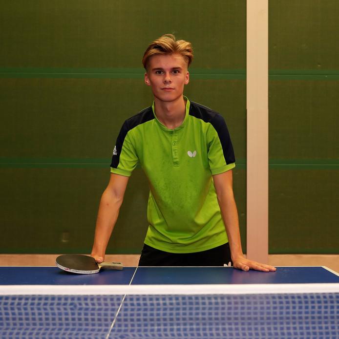 """Roel Bogie is pas 18, maar neemt komend seizoen eerstedivisionist De Toekomst uit Lochem al bij de hand. ,,Ik word de onbetwiste kopman en dat brengt extra verantwoordelijkheid."""""""