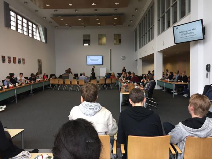 Bespreking over AZC in Middelburg