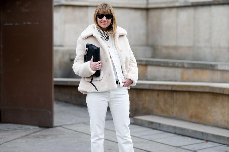 Super Wit dragen in de winter doe je zo | Style | Nina | HLN VO-17