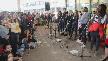 GO!-basisschool en Atheneum Gentbrugge zetten duurzaam watergebruik in de kijker