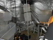 Politie ontdekt hennepdrogerij na anonieme tip
