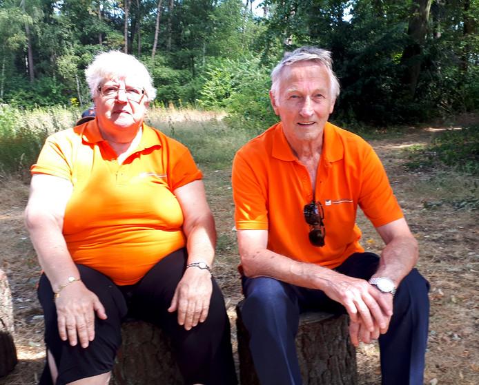 Nationale Jeugdronde 35 jaar, Nettie en Walther van Dorst waren er altijd bij.