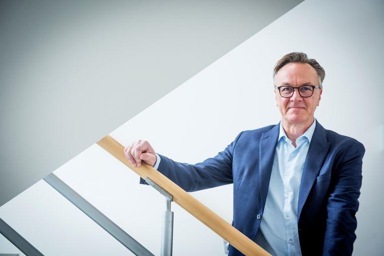 """""""Met onze businessoplossingen komen wij in alle sectoren en alle afdelingen"""", zegt Van Der Stappen."""