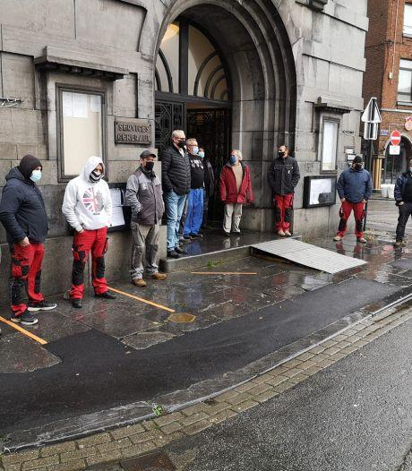 Troisième action de grève consécutive à la Ville de Charleroi