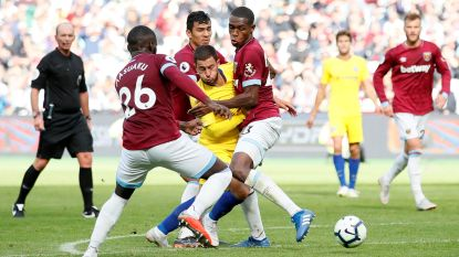 Hazard én Chelsea zijn reeks kwijt