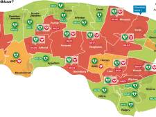 Te weinig AED's in Land van Maas en Waal