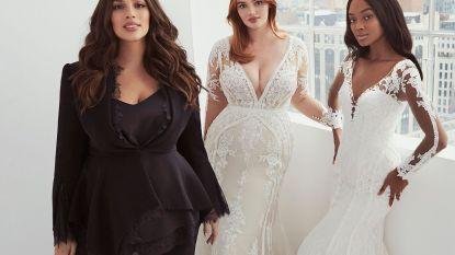 """Plussize model Ashley Graham lanceert bruidscollectie: """"Vrouwen moeten zich krachtig voelen"""""""