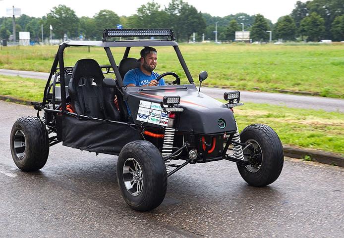 Presentatie van de elektrische buggy in Helmond
