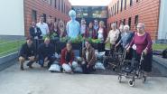 Rotaract schenkt plantenbakken aan woonzorgcentrum De Boomgaard in Lembeke
