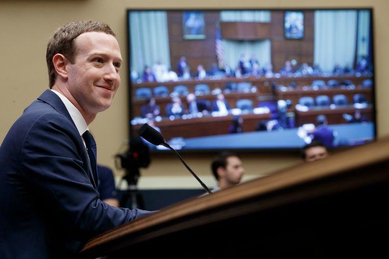 Facebook-baas Mark Zuckerberg.