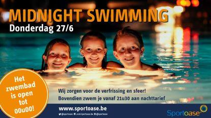 Te warm? Sportoase Schiervelde donderdag open tot middernacht