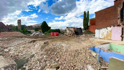 Oude middelbare school in Bouwerijstraat verdwijnt onder de sloophamer