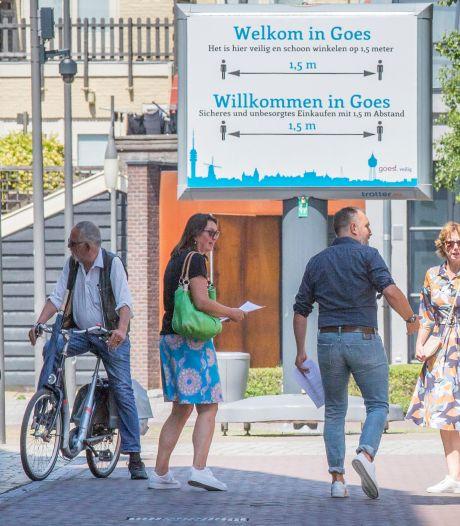 Goes neemt stevige maatregelen tegen corona in centrum: parkeerterrein dicht, uitstallingen weg